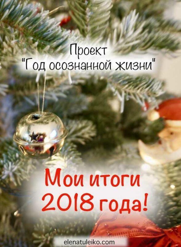 Мои итоги 2018 года | Блог Радость в каждом дне