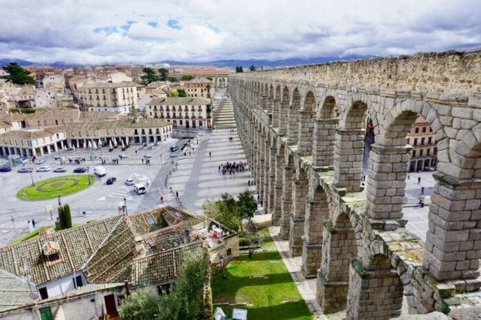 Римский Акведук и Сеговия | Блог Радость в каждом дне