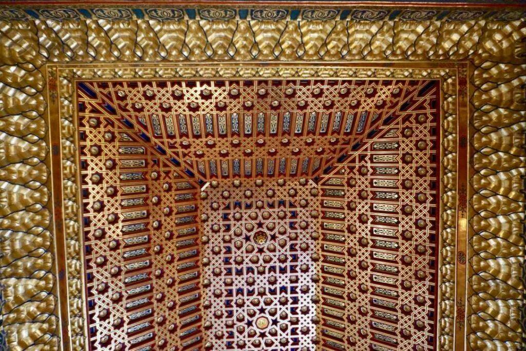 Отделка потолков в залах Альказара, Сеговия | Блог Радость в каждом дне