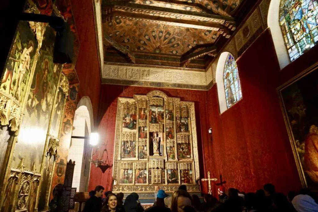 Часовня в Сеговийском Альказаре | Блог Радость в каждом дне