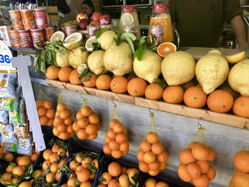 Неаполь и лимоны | Блог Радость в каждом дне